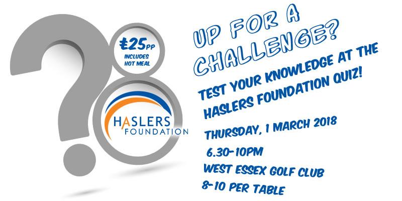 Haslers Foundation Quiz!