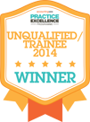 Winner Unqualified/Trainee of the Year - 2014 AccountingWEB Practice Excellence Awards