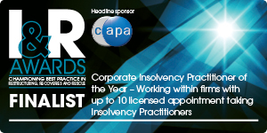 Corporate Insolvency Practitioner of the Year