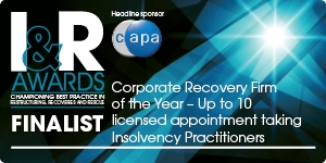 Corporate Recovery Firm of the Year