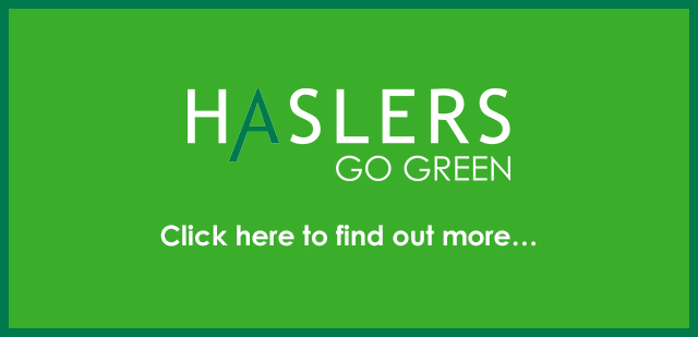 Haslers Go Green