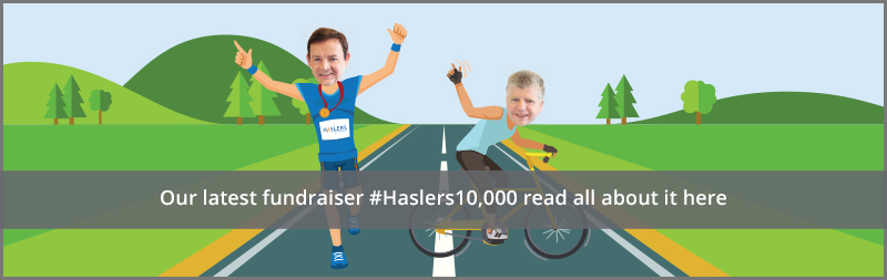 Our latest fundraiser #Haslers10,000 read all about it here