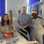 Haslers celebrate fifth Give a Gift Appeal in a row with Frank Charles