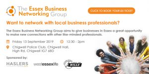 The Essex Business Networking Group welcomes back business leaders after the summer break