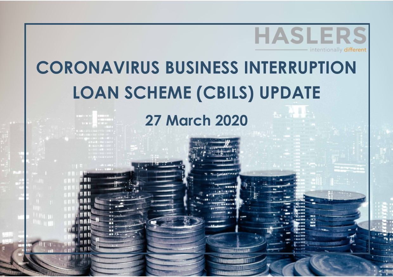 Covid 19 Updates: CORONAVIRUS BUSINESS INTERRUPTION LOAN SCHEME (CBILS)